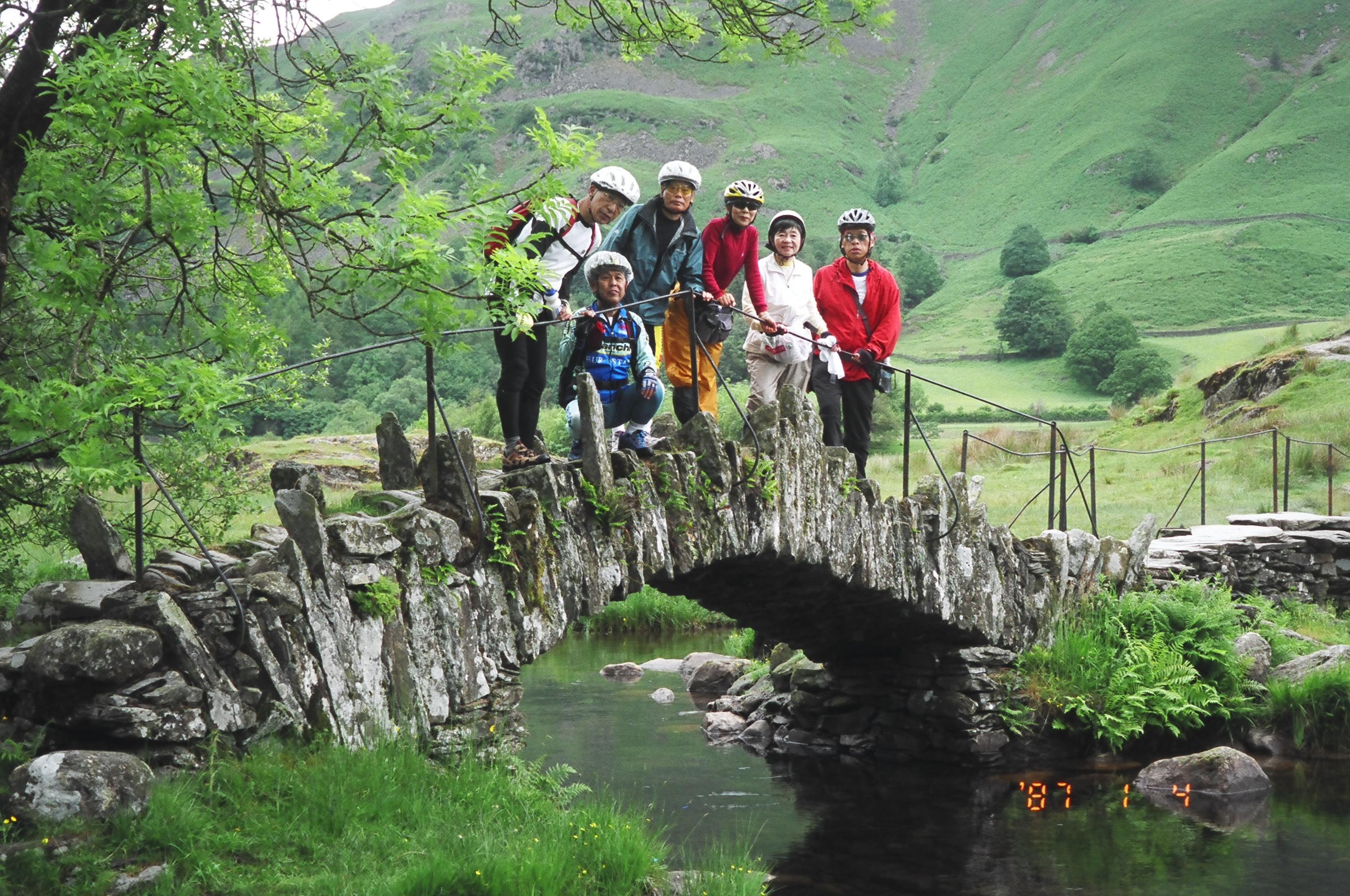 湖水地方石橋